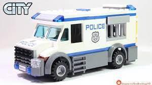 Đồ Chơi Xếp Hình LEGO City 60043 Lắp Ráp Xe Cảnh Sát Chở Phạm Nhân   Lego  Speed Build Review - YouTube