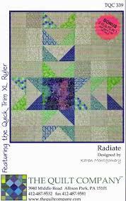 Radiate Quilt Pattern by Karen Montgomery &  Adamdwight.com