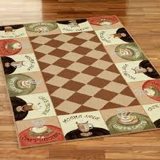 Coffee Themed Kitchen Rugs