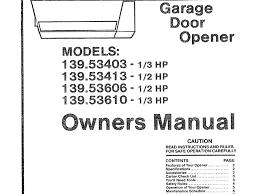 garage doors craftsman hp door opener manual luxury repair denver