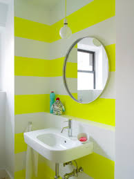Yellow Bathroom Rooms Viewer Hgtv