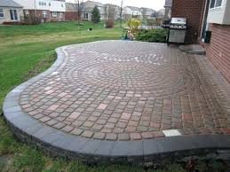designs for backyard modern patio ideas using s with a cool paver design brick