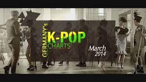 Pop Charts 2014 Germanys K Pop Charts March 2014