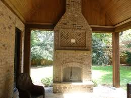 screened in porch with fireplace. How Much Does A Chicagoland Screened Porch Cost Archadeck In With Fireplace S