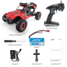 JJRC Q46 1:12 <b>2.4G 4WD</b> Brushed High Speed Off-road <b>RC Car</b> ...