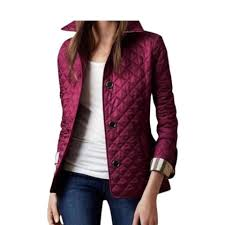 Burberry Purple Quilted Spring Jacket Size 4 (S) - Tradesy &  Adamdwight.com