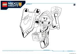 Small Picture Lego Nexo Knights Macy 1 coloring pages
