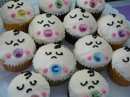 image of baby shower cake decorations