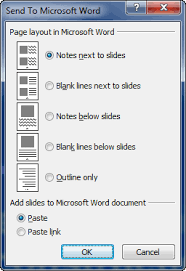 Ms Word Powerpoint 4 Best Practices For Powerpoint Handouts With Send To Word Echosvoice