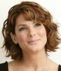 short wavy hairstyle for women over 50