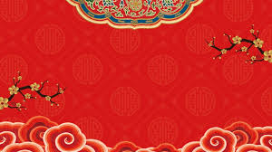 red festive chinese wedding background material