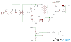 Laptop Charger Circuit Design 12v 1a Smps Power Supply Circuit Design On Pcb