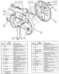 2000 ford ranger drum brake diagram fresh brakes drawing at getdrawings