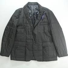Chaps Ralph Lauren Black Quilted Jacket Sportcoat Blazer 48r 48 ... & Picture 1 of 7 ... Adamdwight.com