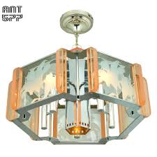 mid century modern semi flush mount ceiling light fixture chandelier ant 577 for