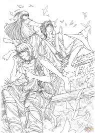 Small Picture Morgiana Alibaba Saluja and Aladdin from MangaAnime Series Magi