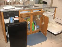 For Kitchen Storage In Small Kitchen Small Island With Marble Countertop Plus Food And Spice Rack