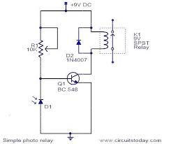 diagram of simple electric circuit photo album   diagramssimple relay circuit diagram