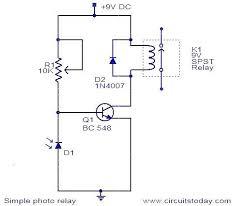 diagram of simple electric circuit photo album   diagramssimple relay circuit diagram