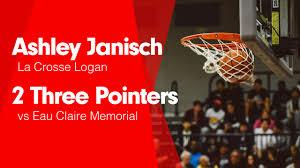 2 Three Pointers vs Eau Claire Memorial - Ashley Janisch ...