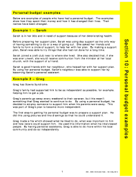 example of personal budget submit personal budget example form samples in pdf