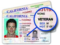 Driver Licenses Veterans Kpbs Special To Offer California For