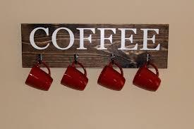 view in gallery simple wood rack mug racks every coffee and tea lover should see