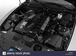 2007 BMW Z4 Coupe 3.0si in Silver - Engine Stock Photo: 16051645 ...