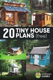 20 Free DIY Tiny House Plans to Help You Live the Small \u0026 Happy Life