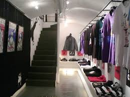 Part Of Space Clothing Store Interior Design Utilizes The Hall Room As Your Clothing  Store . Clothes Hanging On The Wall As Well As Other Clothes Neatly