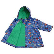Im Link Pluie Pluie Blue Outerspace Lined Boys Raincoat Outerwear 12m 8