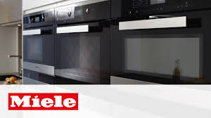Fast Cooking Ovens Microwave Ovens Simple Fast And Flexible Cooking Miele Youtube