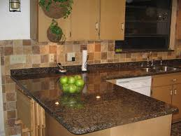 Granite Tile Kitchen Counter Dark Granite Countertops The Kitchen Remodel