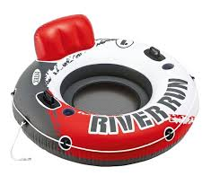 <b>Надувной круг Ривер</b> Ран с держателями для рук 135 см <b>Intex</b> ...