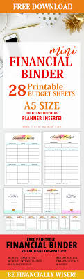Printable Budgeting Sheets Free Printable Budget Sheets 28 Brilliant Pages In A5 Size