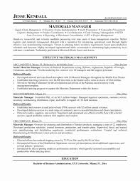 Materials Manager Resume Resume Format For Logistics Manager Luxury 24 Logistic Job Sample 1