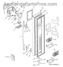 ge wr17x11655 drip tray appliancepartspros com part diagram