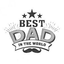 Best Dad Quotes New Isolated Happy Fathers Day Quotes On The White Background Best Dad