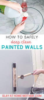 cleaning walls cleaning baseboards