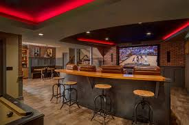 man cave lighting. perfect lighting basement man cave design ideas basement traditional with rough sawn oak  tread stairs fiber optic ribbon intended man cave lighting r