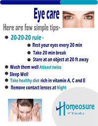 how to care our eyes