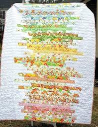 Strip Quilts Using Jelly Rolls A Line Art Quilt In Happy Colors I ... & Strip Quilts Using Jelly Rolls A Line Art Quilt In Happy Colors I Like This  Better Adamdwight.com