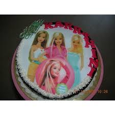 Barbie Photo Cake1kg