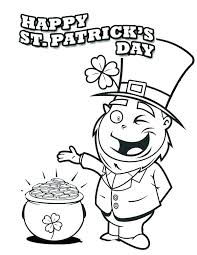 St Patricks Day Coloring St Patrick Day Coloring Pages Nightcode Info