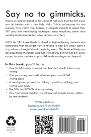 Sat Sample Essay Pwn The Sat Essay Guide Mike Mcclenathan 9781491007648