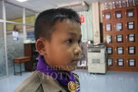 เดกนกเรยนพษณโลกนยมผมสนดแลงาย Phitsanulok Hotnews