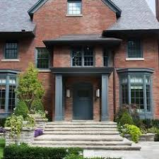 Small Picture How To Use Gray With Your Homes Exterior Bricks White trim and