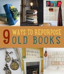 upcycling old books diy projects craft ideas how to s for home decor with videos