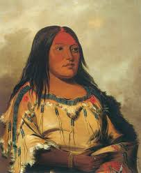american artist george catlin traveled west to paint native americans in 1832 he painted eeh