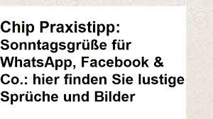 Sonntagsgrüße Für Whatsapp Facebook Co Hier Finden Sie Lustige
